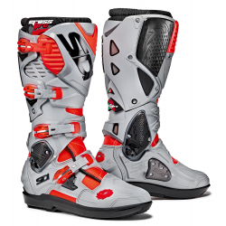 Bottes SIDI CROSSFIRE 3 SRS - Rouge fluo / Cendre