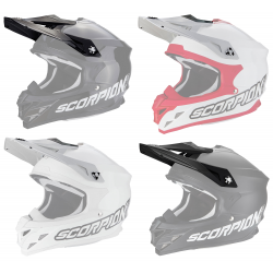 Visière casque SCORPION VX-15 EVO AIR Solid