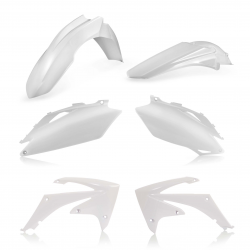 Kit plastiques complet ACERBIS HONDA CRF250R '10 CRF450R '09/10 - Blanc