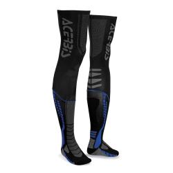 Chaussettes hautes ACERBIS X-LEG PRO - Noir / Bleu