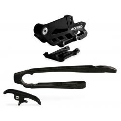 Guide + patin de chaîne ACERBIS 2.0 - KTM EXC '17 - Noir