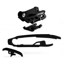 Guide + patin de chaîne ACERBIS 2.0 - KTM SX / HVA '11/15 - Noir