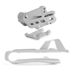 Guide + patin de chaîne ACERBIS 2.0 - KTM/HVA 85 '15/17 - Blanc