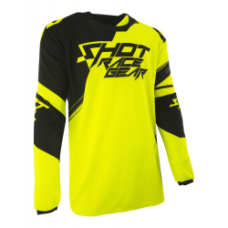 Maillot SHOT CONTACT CLAW Neon Jaune