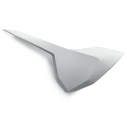 Plaque latérale gauche d'origine vierge HUSQVARNA - Blanc