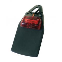 Bavette arrière à LED