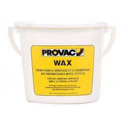 Crème de montage pneu PROVAC WAX - seau de 1kg