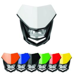 Plaque phare halogène POLISPORT HALO homologuée