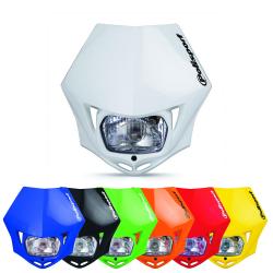 Plaque phare halogène POLISPORT MMX homologuée