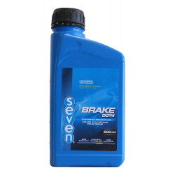 Liquide de frein DOT 4 SEVEN - 500ML