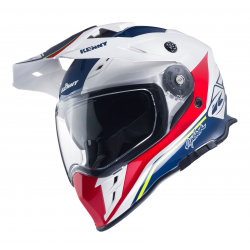 Casque KENNY EXPLORER - Bleu Blanc Rouge