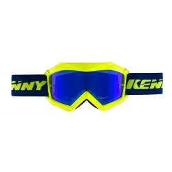 Lunettes enfants KENNY TRACK+ - Bleu /Jaune Fluo