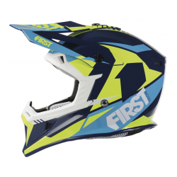 Casque T3 2017 FIRST RACING - Bleu