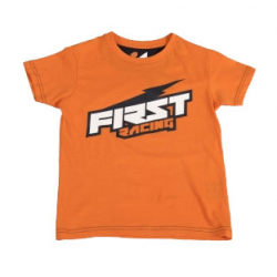 T-shirt FIRST RACING - orange