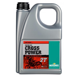 Huile 2 temps MOTOREX CROSS POWER 2T - 4L