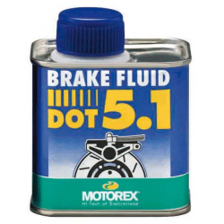 Liquide de frein DOT 5.1 MOTOREX - 250mL
