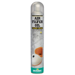 Huile de filtre à air MOTOREX AIR FILTER OIL - Spray 750mL