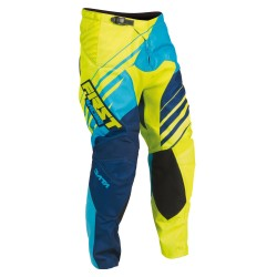 Pantalon DATA 2016 FIRST RACING - Bleu / Lime