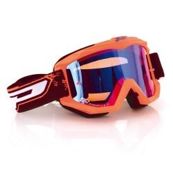 Lunettes PROGRIP 3204 - Orange fluo - écran iridium