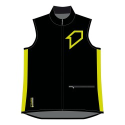 Bodywarmer RACER 2018 FIRSTRACING - Noir / Lime fluo