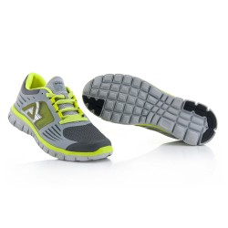 Chaussures running corporate ACERBIS - Gris Jaune