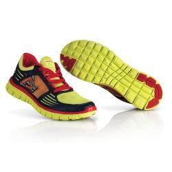 Chaussures running corporate ACERBIS - Jaune Rouge