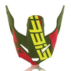 Visière casque ACERBIS PROFILE 3.0 - Vert / Jaune