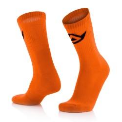 Chaussettes coton hautes ACERBIS - Orange fluo