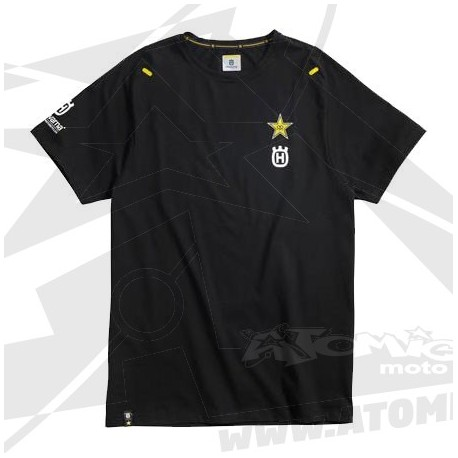 Tshirt replica Factory ROCKSTAR team - Noir