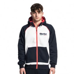Sweatshirt à capuche zippé Beta Racing
