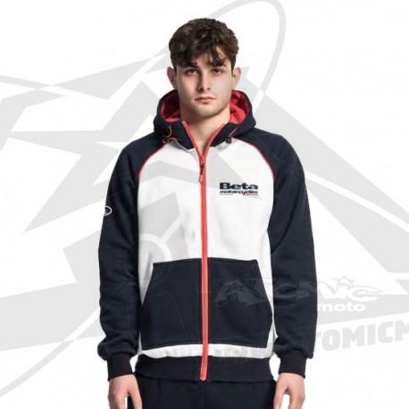 Sweatshirt à capuche zippé Beta Racing