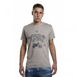 T-shirt BETA MOTORCYCLING IS A LIFESTYLE - Gris