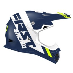 Casque K2 Evo FIRSTRACING - Marine / Fluo / Blanc