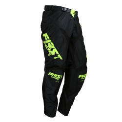 Pantalon DATA Evo FIRSTRACING - Noir / Fluo