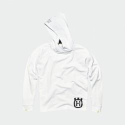 Sweat à capuche HUSQVARNA Inventor - Blanc