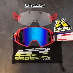 Masque DEPT63 Patriot v2 + Kit R-FLOW coloris au choix