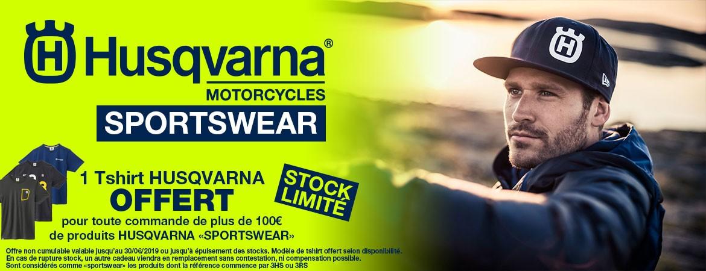 Offre Husqvarna Sportswear