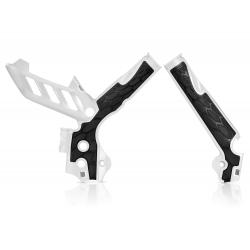 Protections de cadre ACERBIS X-GRIP - KTM SX '11/15 EXC '12/16 - Blanc / Noir