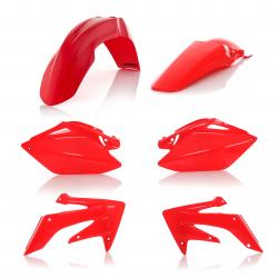 Kit plastiques complet ACERBIS HONDA CRF250R '06/09 - Rouge
