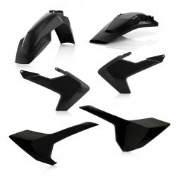 Kit plastiques complet ACERBIS HUSQVARNA TE/FE '17 - Noir