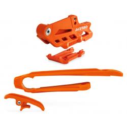 Guide + patin de chaîne ACERBIS 2.0 - KTM EXC '12/16 - Orange