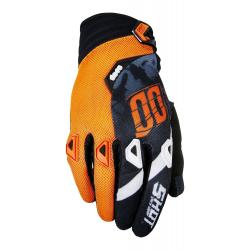 Gants SHOT DEVO SQUAD Gris / Neon Orange