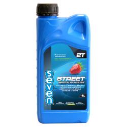 Huile 2 temps synthèse senteur Fraise SEVEN STREET - 1L
