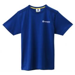T-shirt BASIC LOGO BLEU HUSQVARNA
