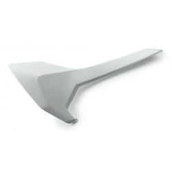 Plaque latérale droite d'origine vierge HUSQVARNA - Blanc