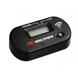 Compteur d'heures sans fil SCAR