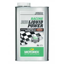 Huile de filtre à air Liquid BIO power - Bidon 1L