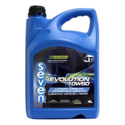 Huile moteur 4 temps SEVEN EVOLUTION 10W50 - 4L