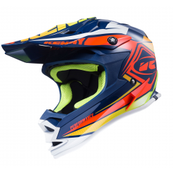 Casque enfant KENNY PERFORMANCE - Navy Orange Lime