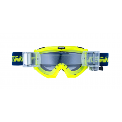 Lunettes KENNY TRACK MAX Roll-off  - Bleu / Jaune Fluo